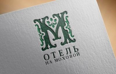 """разработка логотипа для отеля """"на моховой"""", брендинг, логотип, отель, логотип отеля, логотип отеля спб, петерург"""