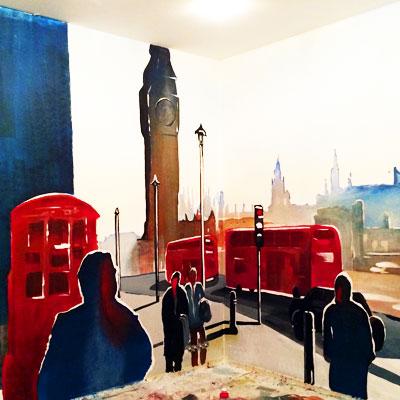 Процесс, Роспись стен, Лондон, англия, Бигбэн, роспись на стенах, фреска, фрески на стенах, граффити на заказ, роспись в спб, спас на крови рисунок, vsevdecor, спб, санкт-Петербург, москва