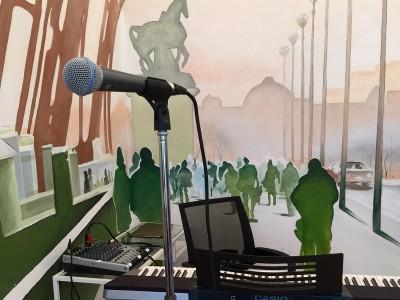 роспись стен париж, роспись на стенах, граффити, роспись в интерьере, роспись стен, фреска, фрески, vsevdecor, санкт-петербург, москва