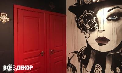 стены в кальянной, интерьер кальянной, роспись стен, туалет в баре, туалет в кальянной, граффити в интерьере, стимпанк, оформление кальянной, всевдекор, vsevdecor, свитящук кирилл, феромон, feromon group