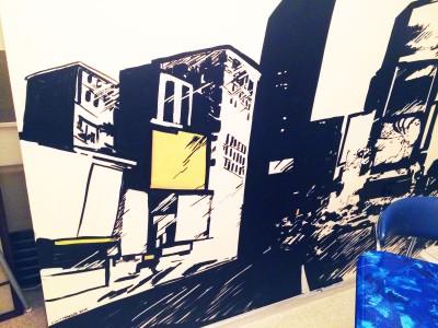 графика, такси, город роспись стен, граффити new york, мегаполис, стритарт, комикс, comix, Процесс, Роспись стен, Нью-йорк, New-york, graffiti, usa, англия, Бигбэн, роспись на стенах, фреска, фрески на стенах, граффити на заказ, роспись в спб, спас на крови рисунок, vsevdecor, спб, санкт-Петербург, москва