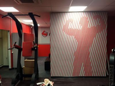Роспись стен, брендирование, do4a.com, граффити на стене, граффити на заказ, трафарет на стене, паттерн на стене, Санкт-Петербург, Москва, vsevdecor