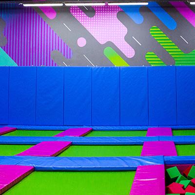 батутный парк дизайн