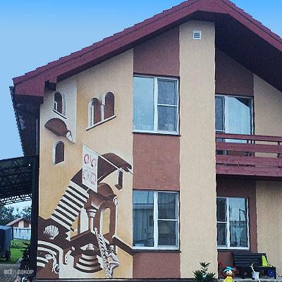роспись фасадов спб