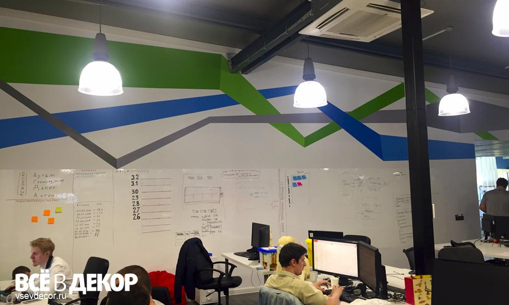 узор на стене, граффити узор на стене, рисунок логотипа на стене, офис елама граффити, офис граффити, elama, rospis-sten, брендирование, linii-grafika, граффити, граффити на стене, граффити на заказ, трафарет на стене, паттерн на стене, Санкт-Петербург, Москва, vsevdecor, всевдекор, логотип компании на стене в офисе