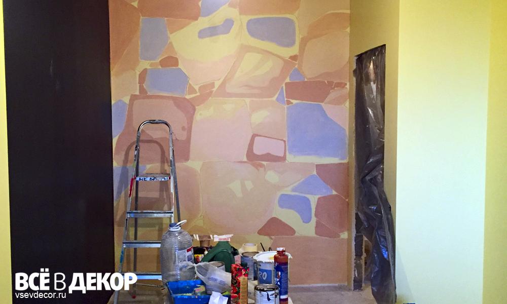 стилизованные камни, камни на стене, рисунок камней на стене, роспись стен в детской комнате, всевдекор, все в декор, vsevdecor, граффити, дети, тоторо граффити, тоторо роспись стен,детская комната, graffiti, роспись стен, спб, санкт петербург, москва, тоторо детская комната, тоторо рисунок, тоторо на стене, комната девочки, детский рисунок на стене, скала graffiti, камни graffiti