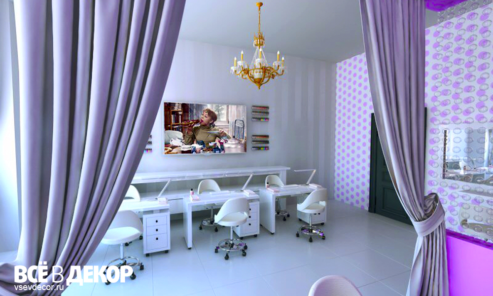 дизайн интерьера салон красоты, девчата маникюр, девчата, девчата клуб красоты, rospis-sten, брендирование, дизайн интерьера, граффити, граффити на стене, граффити на заказ, трафарет на стене, паттерн на стене, Санкт-Петербург, Москва, vsevdecor, всевдекор, горошек на стене