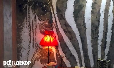 aerografiya-zebra, rospis-sten, брендирование, зебра граффити, граффити на стене, граффити на заказ, трафарет на стене, паттерн на стене, Санкт-Петербург, Москва, vsevdecor, всевдекор