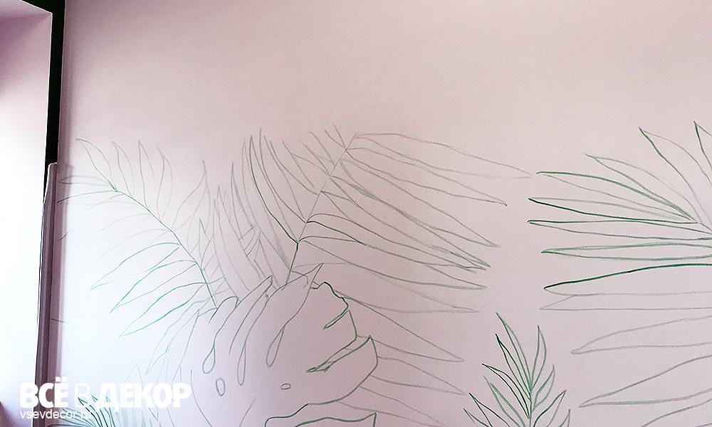 кафе brukva, кафе брюква московский, стены кафе брюква, роспись стен в кафе, фреска на стене кафе, состаренная фреска в кафе, фреска листья фото, фреска трава фото, фреска зелень фото, фреска старинная технология, старинная фреска на стене, роспись стены кафе, брюква кафе, aerografiya-listya-na-stene, rospis-sten, роспись стен в кафе брюква, художники роспись стен, граффити, граффити на стене, граффити на заказ, монстера на стене, фреска на стене художники, Санкт-Петербург, Москва, vsevdecor, всевдекор, все в декор, свитящук