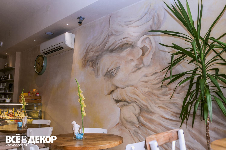 фреска фото, фреска старинная технология, старинная фреска на стене, роспись стен ресторан, caffe 500, aerografiya-da-vinchi, rospis-sten, роспись стен в ресторане, да винчи граффити, граффити на стене, граффити на заказ, леонардо да винчи на стене, фреска на стене, Санкт-Петербург, Москва, vsevdecor, всевдекор, все в декор