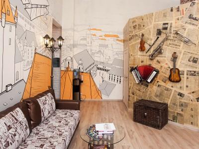 роспись стен город графика, роспись на стенах, граффити, роспись в интерьере, роспись стен, фреска, фрески, vsevdecor, санкт-петербург, москва