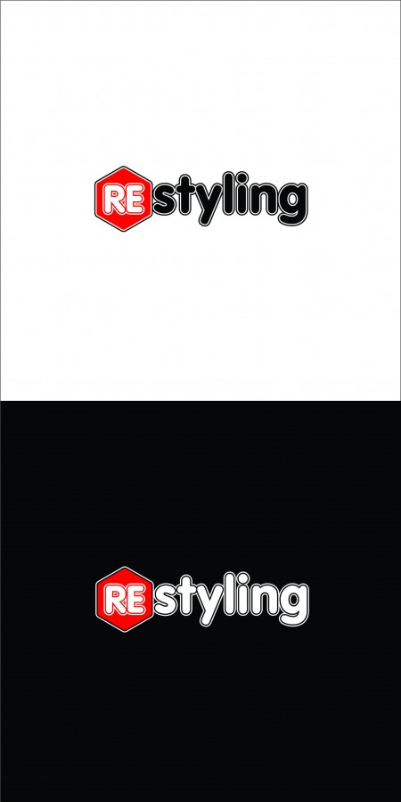 restyling кривые лого