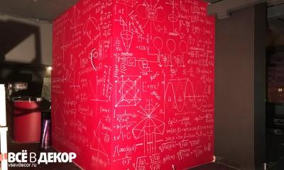 роспись стен формулы графика