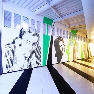 роспись стен в бизнес центре в офисе (10)